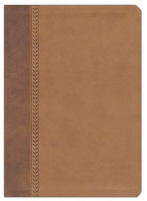 NIV Jeremiah Study Bible, Imitation Leather, brown  -     By: David Jeremiah
