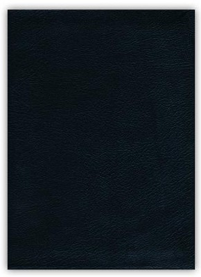 NIV Jeremiah Study Bible, Genuine Leather, black indexed  -     By: David Jeremiah