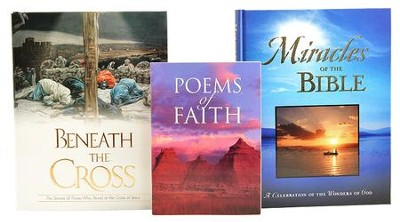 Miracles of the Bible and Beneath the Cross Book Set   -