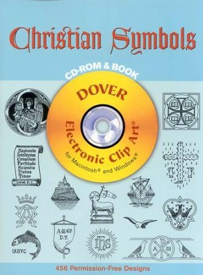 Christian Symbols--Book and CD-ROM   -