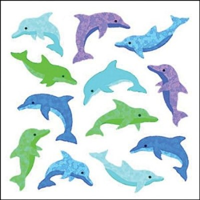 Dolphins  Stickers   -