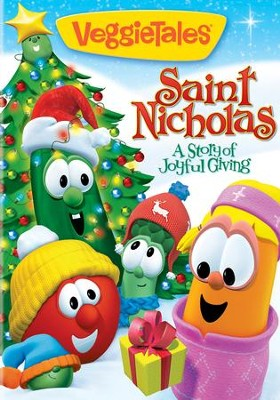 Saint Nicholas: A Story of Joyful Giving VeggieTales DVD - Slightly Imperfect  -