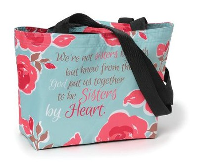 Sisters By Heart Tote Bag   -