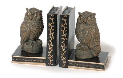 Owl Bookends   -