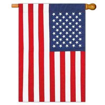 American Applique Flag, Large  -