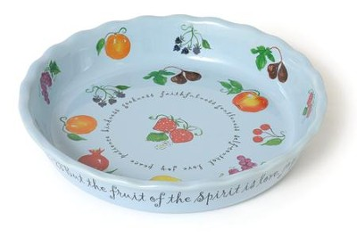 Fruit of the Spirit Pie Plate -  sc 1 st  Christian Book & Fruit of the Spirit Pie Plate - Christianbook.com