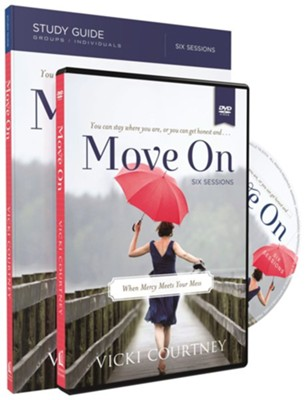 Move On, Study Guide with DVD   -     By: Vicki Courtney