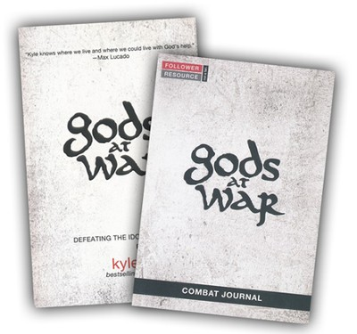 Gods at War, Book and Journal   -     By: Kyle Idleman