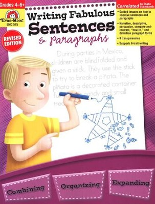 Writing Fabulous Sentences & Paragraphs - Grades 4-6   -     By: Jo Ellen Moore