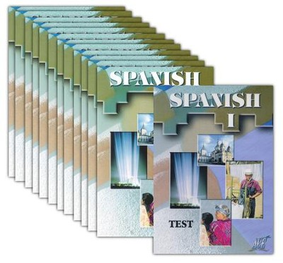 ACE Spanish High School Elective DVD Set: 12 DVDs & 1 Test DVD   -
