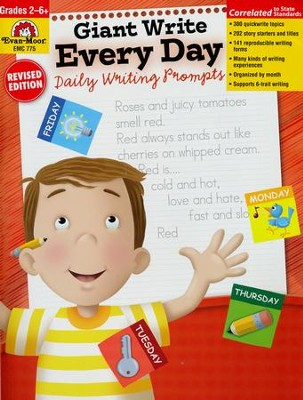 Giant Write Every Day Grades 1-6          -     By: Jo Ellen Moore, Jill Norris, Marilyn Evans