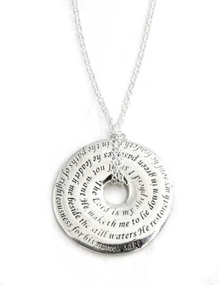 Necklace-Psalm 23  -
