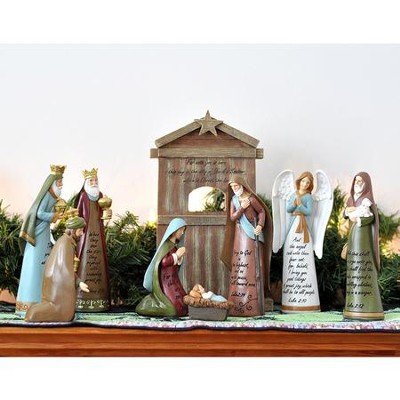 The Story Of Christmas Nativity Set   -