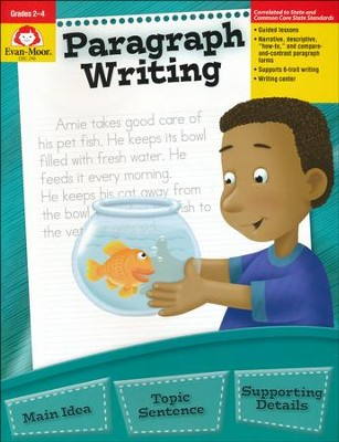 Paragraph Writing Grades 2-4   -     By: Jo Ellen Moore