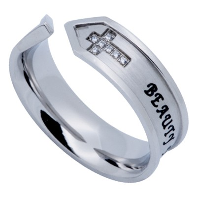 Beauty For Ashes Nexus Women's Ring, Size 5 (Isaiah 61:3)  -