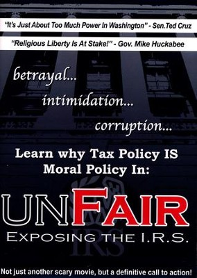 Unfair: Exposing the I.R.S., DVD   -
