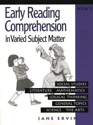 Early Reading Comprehension, Book D   -     By: Jane Ervin