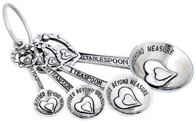 Blessed Beyond Measure, Measuring Spoon Set  -
