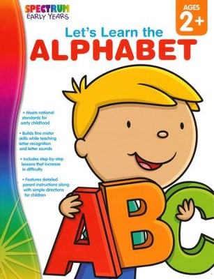 Spectrum Early Years Let's Learn the Alphabet  -