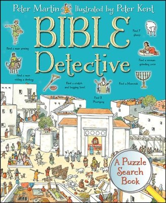 Bible Detective: A Puzzle Search Book  -     By: Peter Martin