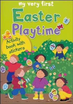 My Very First Easter Playtime: Activity Book with Stickers  -     By: Lois Rock