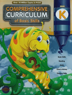 Comprehensive Curriculum of Basic Skills Kindergarten Workbook   -