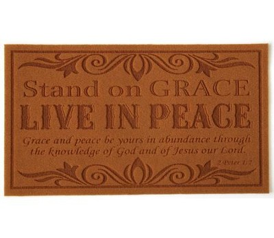 Stand on Grace--Doormat    -