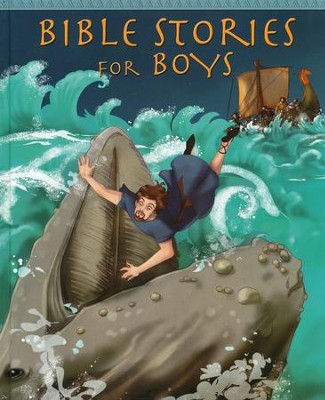 Bible Stories for Boys  -     By: Peter Martin     Illustrated By: Simona Bursi