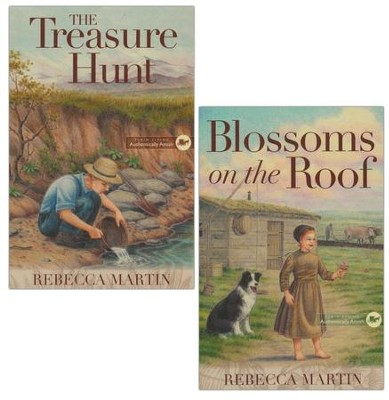 The Amish Frontier Series, 2 Volumes  -     By: Rebecca Martin