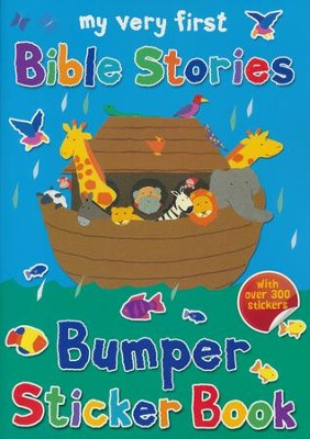 My Very First Bible Stories Bumper Sticker Book  -     By: Lois Rock     Illustrated By: Alex Ayliffe