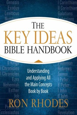 The Key Ideas Bible Handbook: Understanding and Applying All the Main Concepts Book by Book  -     By: Ron Rhodes