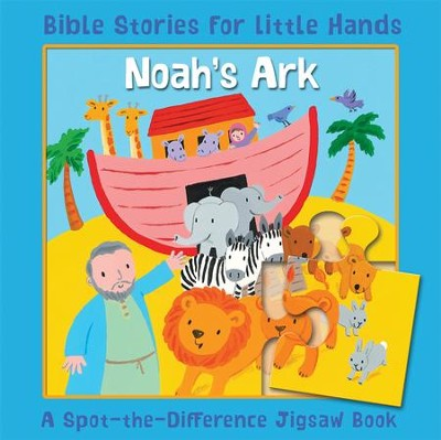 Noah's Ark: A Spot-the-Difference Jigsaw Book  -     By: Lois Rock