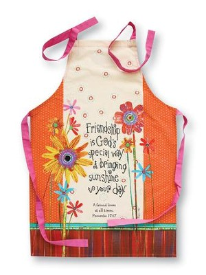 Friendship Apron, Proverbs 17:17  -     By: Robbin Rawlings