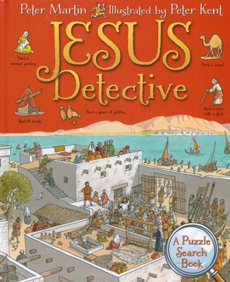 Jesus Detective: A Puzzle Search Book  -     By: Peter Martin