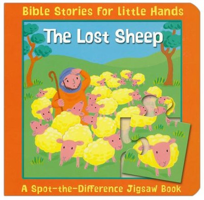 The Lost Sheep: A Spot-the-Difference Jigsaw Book  -     By: Lois Rock