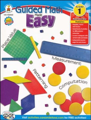 Guided Math Made Easy Grade 1   -