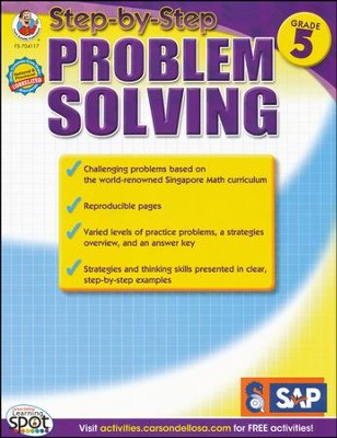 Step-by-Step Problem Solving Level 4, Grade 5   -