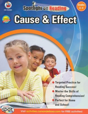 Spotlight on Reading: Cause & Effect Grade 3-4   -