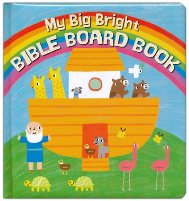 My Big Bright Bible Board Book  -     By: Christina Goodings