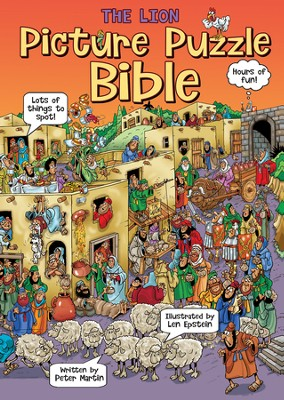 The Lion Picture Puzzle Bible  -     By: Peter Martin
