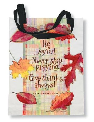Give Thanks Tote Bag   -     By: Robbin Rawlings