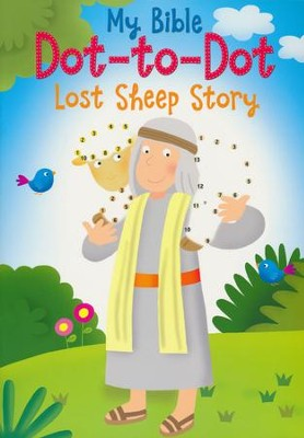 My Bible Dot-to-Dot Lost Sheep Story  -     By: Christina Goodings