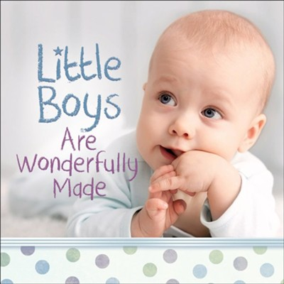 Little Boys Are Wonderfully Made  -     By: Harvest House Publishers
