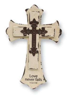 Love Never Fails, Wall Cross   -