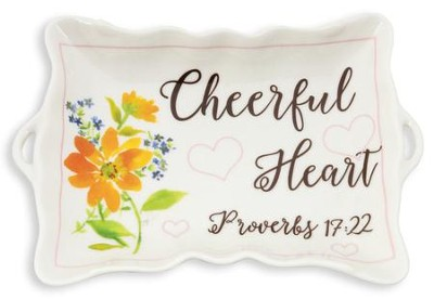 Cheerful Heart Trinket Tray   -