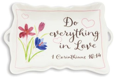 Do Everything In Love, Trinket Tray  -
