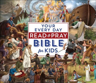 Your Everyday Read & Pray Bible for Kids   -     By: Janice Emmerson