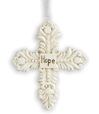 Hope, Decorative Cross Ornament   -