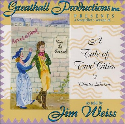 A Tale of Two Cities  -     Narrated By: Jim Weiss     By: Charles Dickens