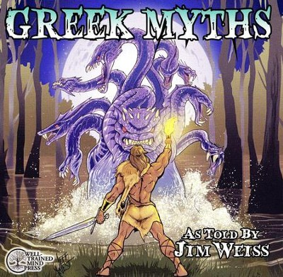 Greek Myths on CD   -     By: Jim Weiss